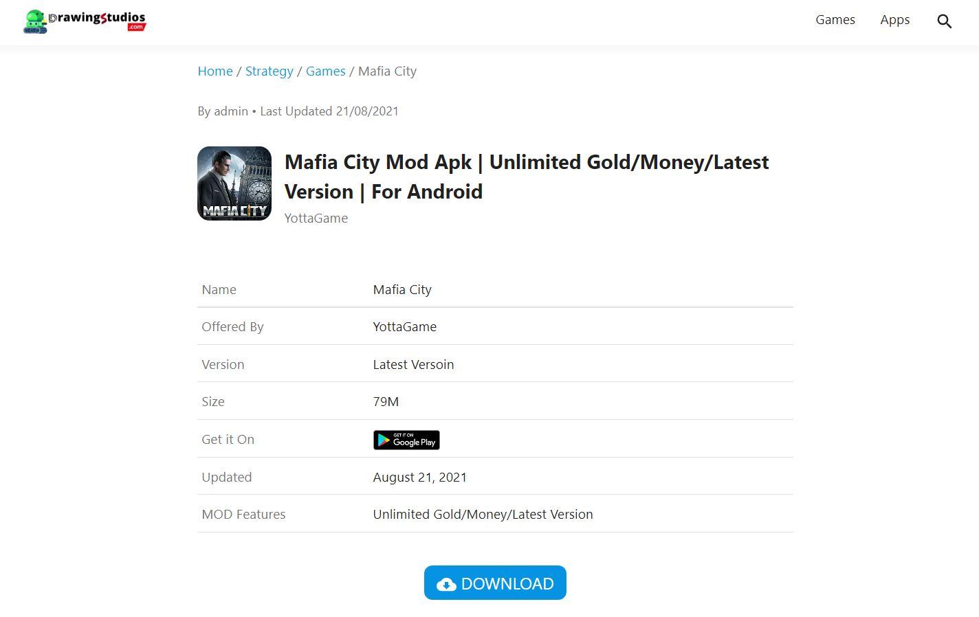 Download What Is Mafia City Mod Apk